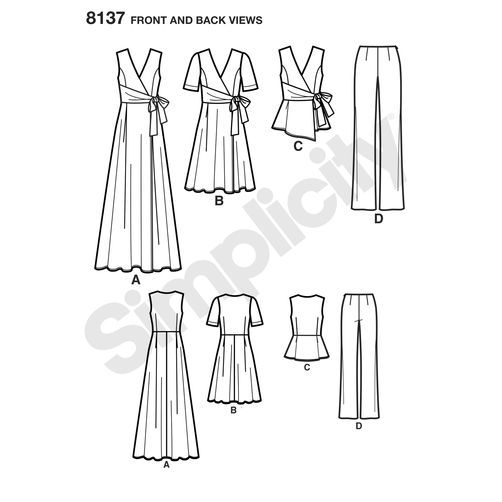 Simplicity 8137 Day One | Sewing at Midnight