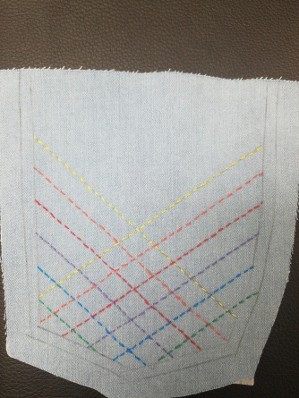 Rainbow Stitches!!!